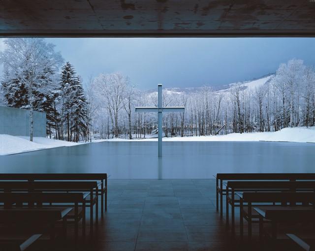 水の教会,1988年,北海道