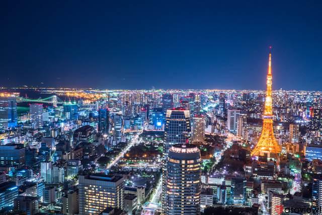 東京 夜景スポット39選!定番からデートで使える穴場まで