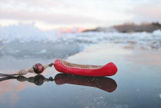 鏡のような氷
