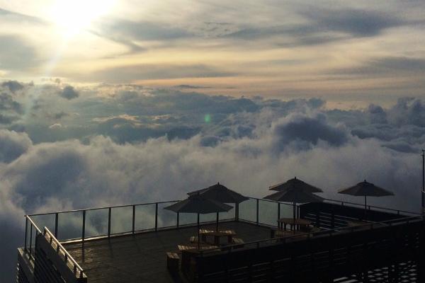 雲海が見れる!北志賀高原に絶景...