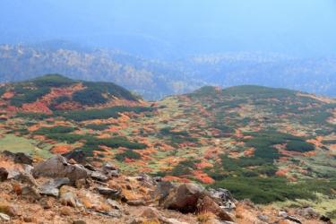 大雪山(旭岳)の紅葉写真
