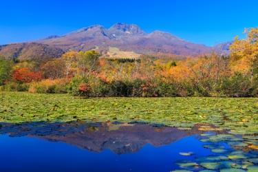 妙高高原の紅葉写真