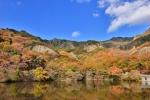 寒霞渓の紅葉写真
