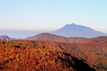 岩木山の紅葉写真
