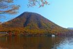 榛名山の紅葉写真