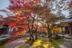 永源寺の紅葉写真