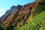 石鎚山の紅葉写真