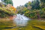 養老渓谷の紅葉写真