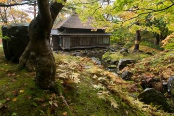 香雪園の紅葉写真