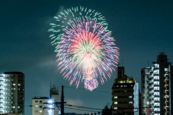八王子花火大会の写真