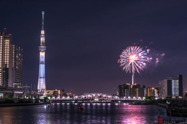 隅田川花火大会の写真