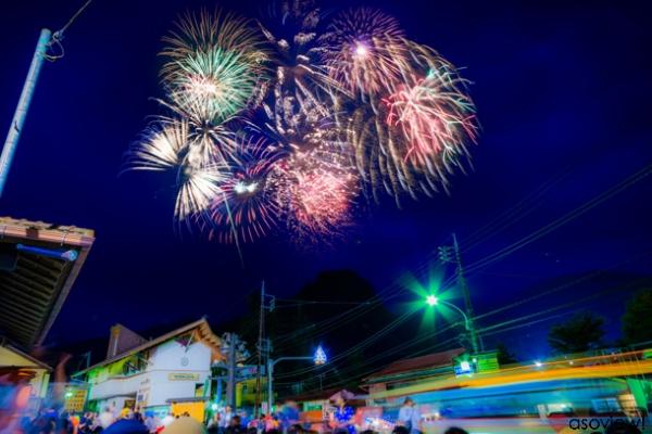 奥多摩納涼記念花火大会の写真