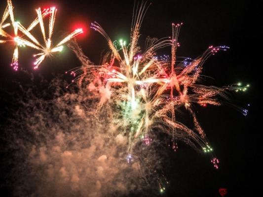 神宮外苑花火大会の写真