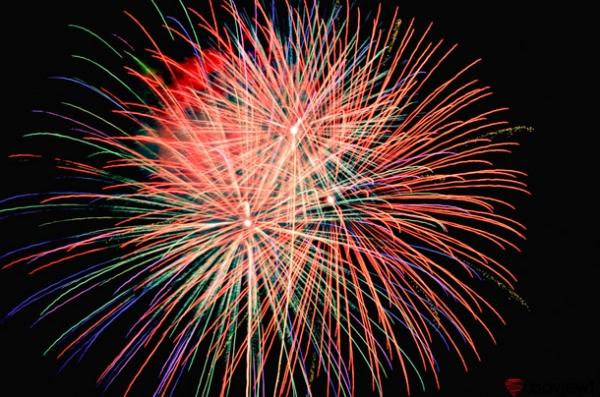 さがみ湖湖上祭花火大会の写真