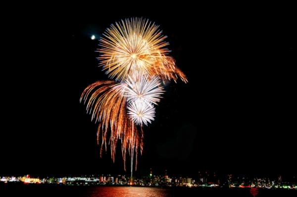 よこすか開国祭 開国花火大会の写真