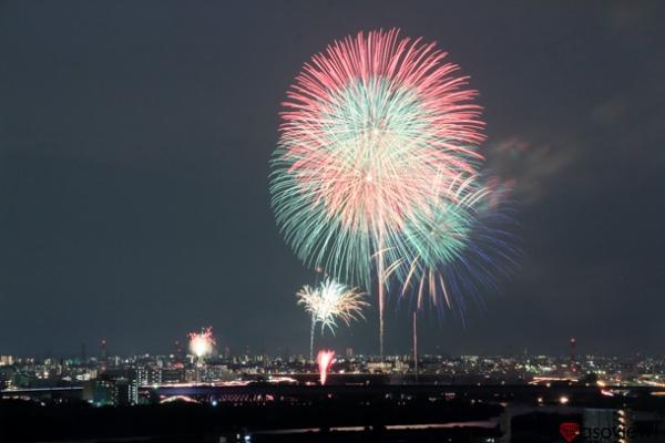 戸田橋花火大会の写真