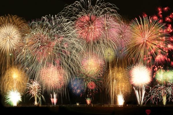 熊谷花火大会の写真