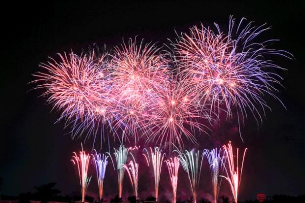 芳賀町ロマン花火の写真