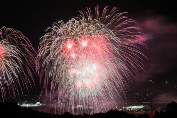沼田花火大会の写真
