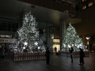 岩田屋本店のイルミネーションの写真