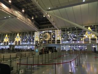 福岡空港のイルミネーションの写真