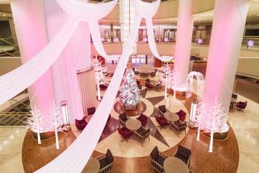 スイスホテル南海大阪 のイルミネーションの写真