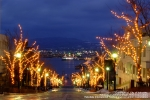 函館市元町地区(二十間坂・八幡坂・開港通り(ベイエリア周辺)・函館駅前広場イルミネーション)のイルミネーションの写真