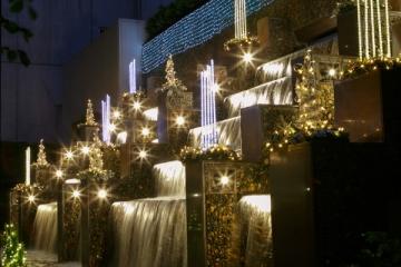 名古屋東急ホテルのイルミネーションの写真