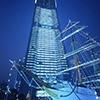 タワー・展望施設のイルミネーションの写真